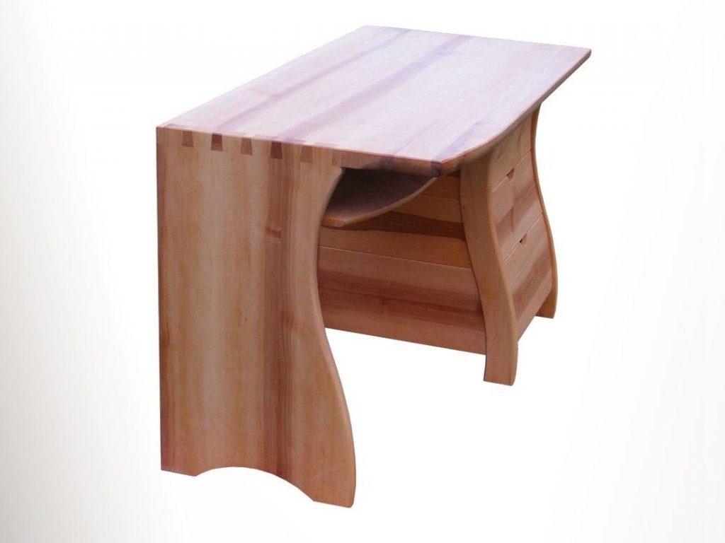 Égerfa íróasztal