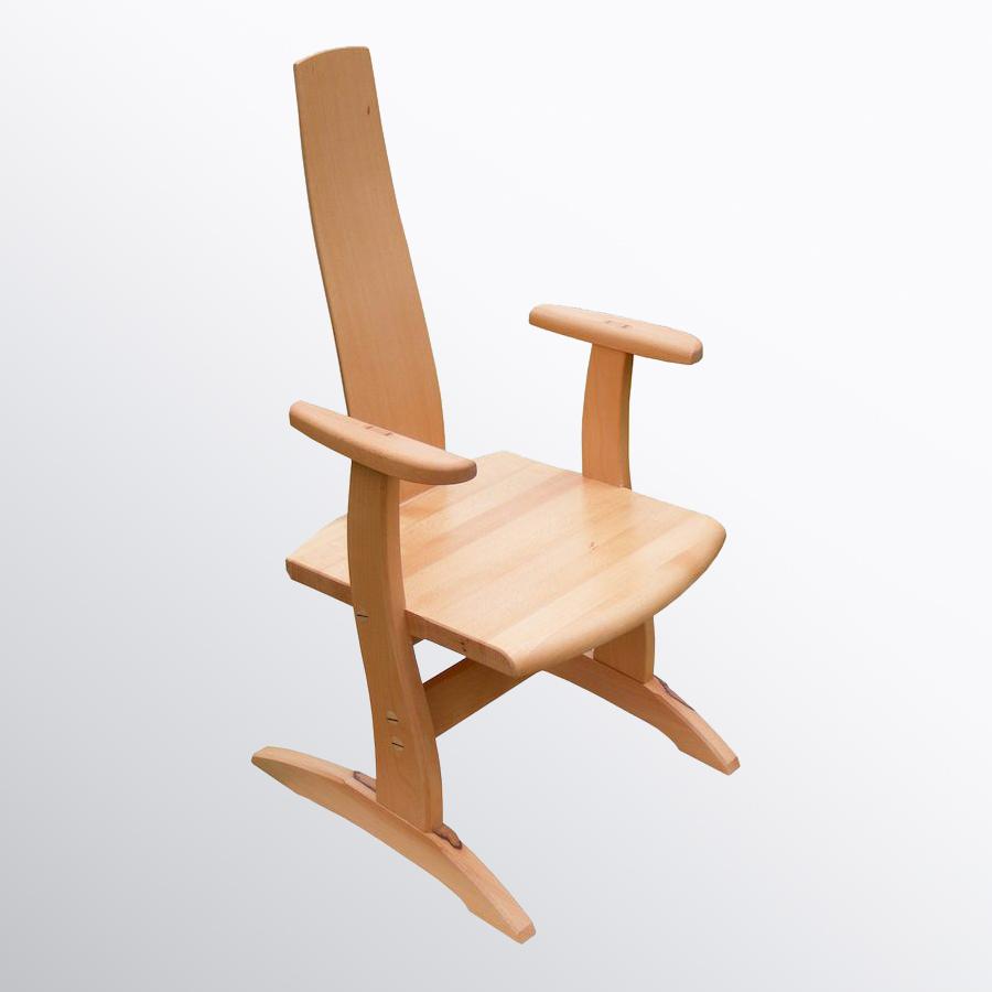 Tömör fa szék