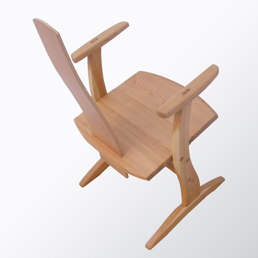 Fa étkező bútor